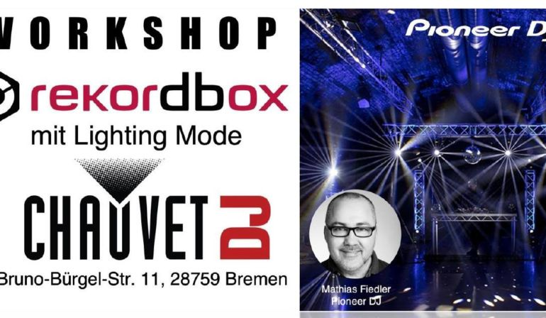 Workshop rekordbox mit Lightning Mode