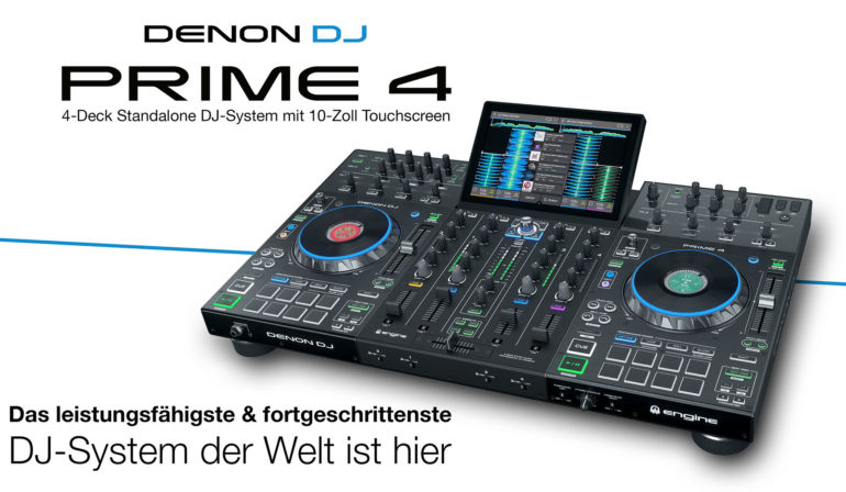 Denon DJ Prime 4 Workshop Berlin