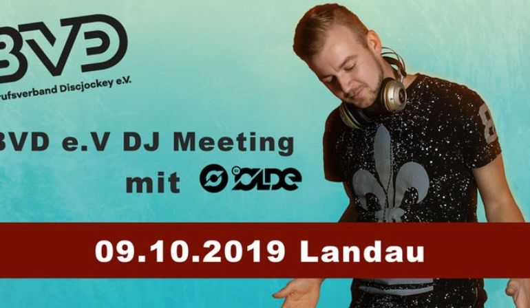 BVD e.V. DJ-Meeting 09.10.2019 in Landau i.d. Pfalz