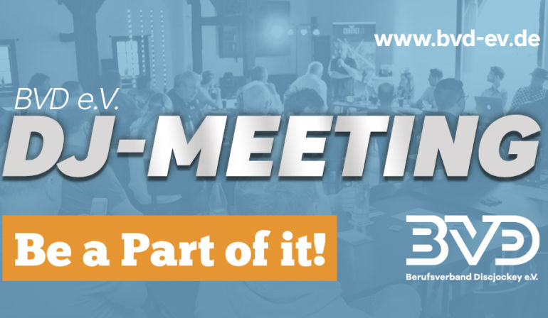 BVD e.V. DJ-Meeting Nord am 03.12.2019